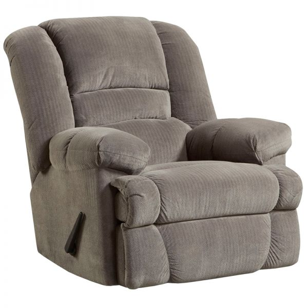 Flash Furniture Contemporary Dynasty Smoke Microfiber Rocker Recliner