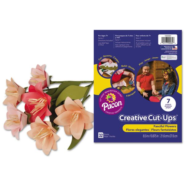 Pacon Fanciful Flowers Creative Cut Ups