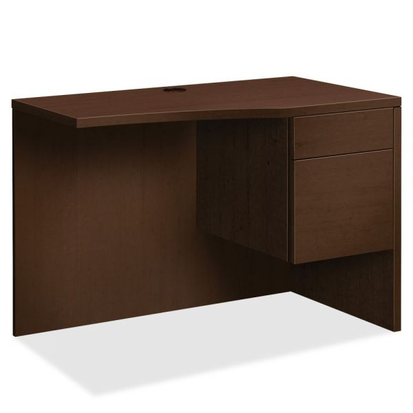 """HON 10500 Series Curved Right Return   1 Box / 1 File Drawer   42""""W"""