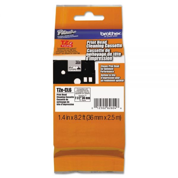 Brother P-Touch TZe Cleaning Tape for P-Touch