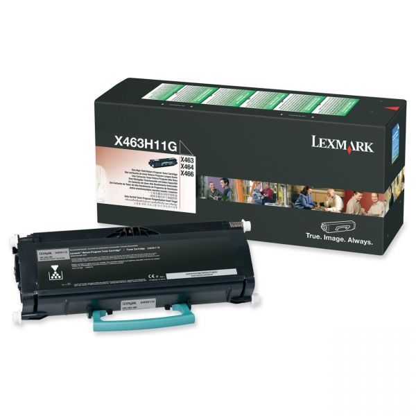 Lexmark X463H11G Black High Yield Return Program Toner Cartridge