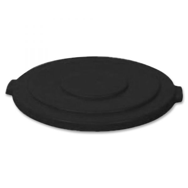 Rubbermaid Commercial Round Flat Top Lids