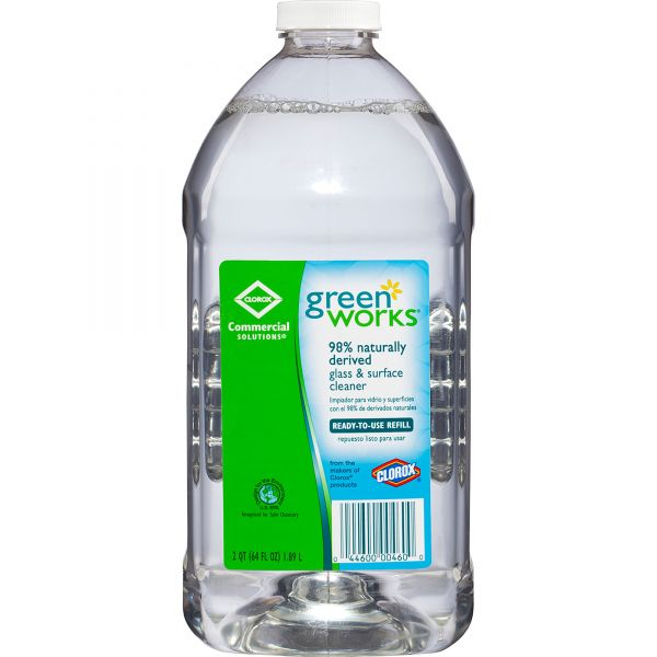 Green Works Natural  Glass & Surface Cleaner Refill