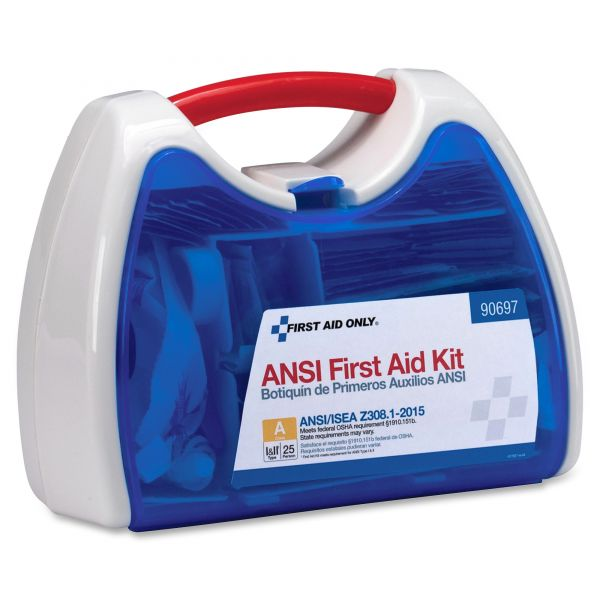 First Aid Only ReadyCare First Aid Kit for 25 People, ANSI A+, 141 Pieces