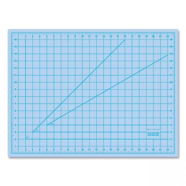 X-ACTO Self-Healing Cutting Mat, Nonslip Bottom, 1 Grid, 24 x 36, Gray