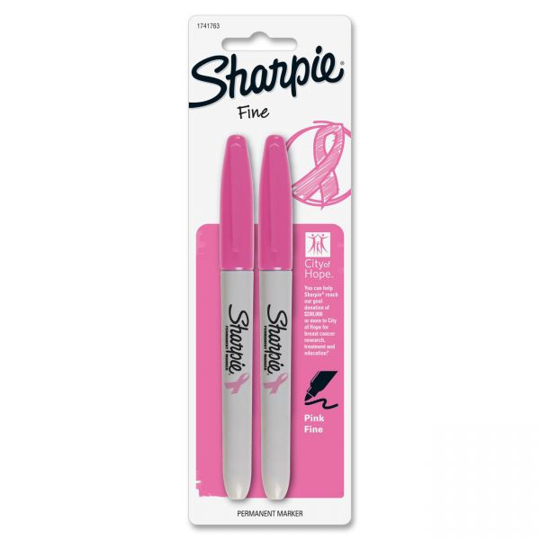 Sharpie Breast Cancer Awareness Fine Point Permanent Markers