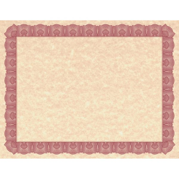 Geographics Braided Border Blank Certificates