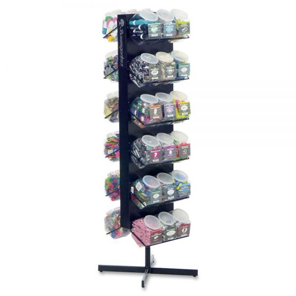 Baumgartens Double-sided 36-tub Display Rack