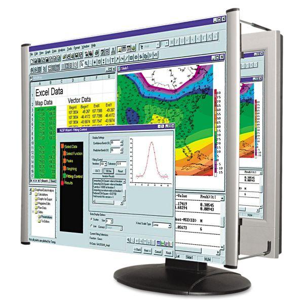 """Kantek LCD Monitor Magnifier Filter, Fits 15"""" LCD"""