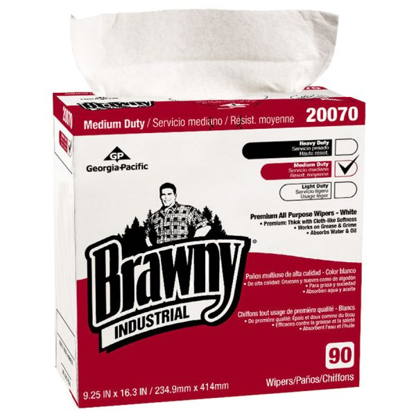 Brawny Industrial Medium-Duty Premium Wipes