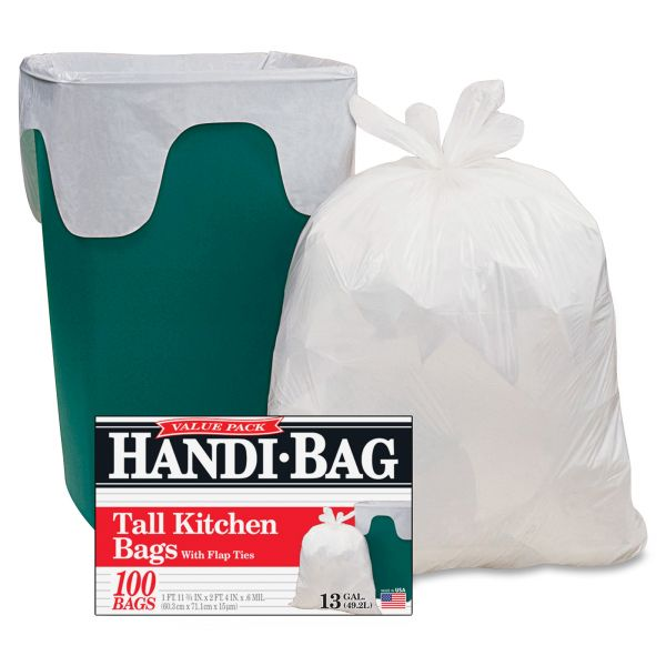 Handi-Bag Super Value 13 Gallon Trash Bags