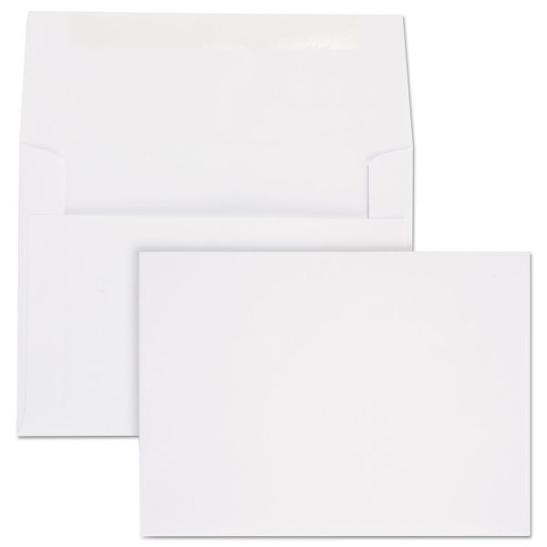 Quality Park Classic Style White Invitation Envelopes