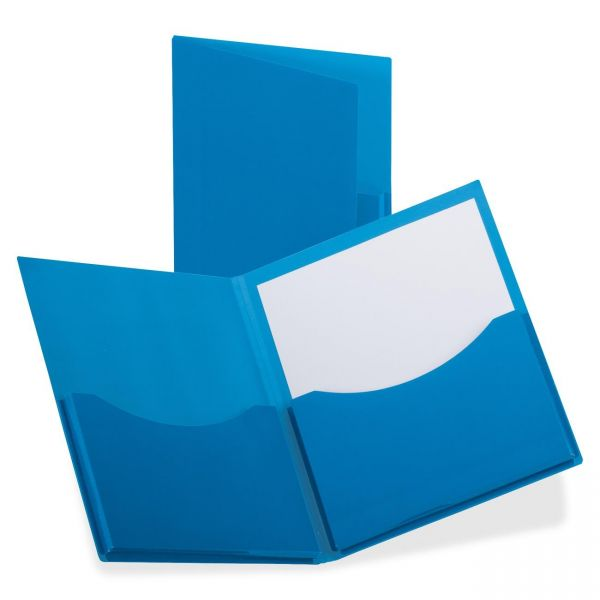 Oxford DoubleStuff Laminated Two Pocket Folders