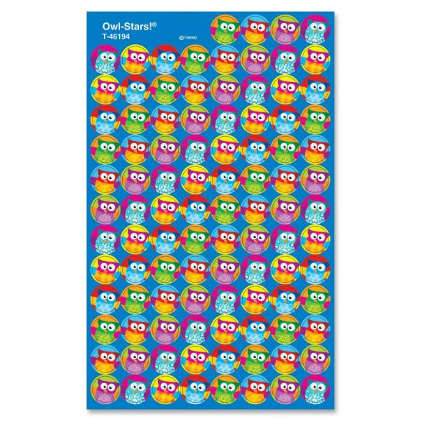 Trend Owl Stars! superSpots Stickers