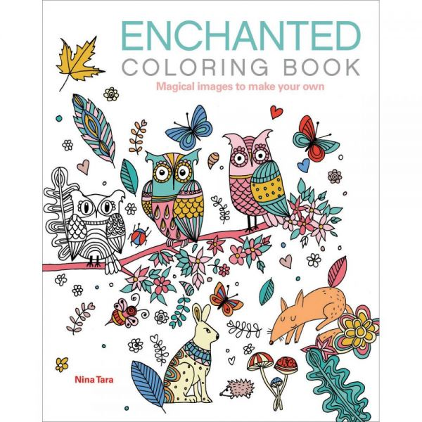 Chartwell Books: Enchanted Coloring Book