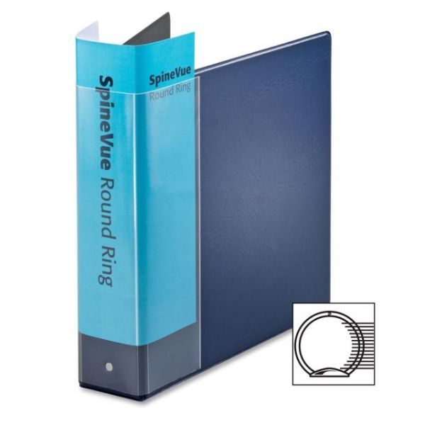 "Cardinal SpineVue 2"" 3-Ring View Binder"