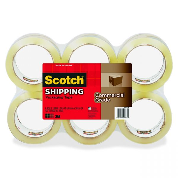 "Scotch Commercial-Grade 2"" Packing Tape"