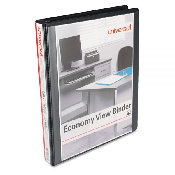 "Universal Economy 1"" 3-Ring View Binders"