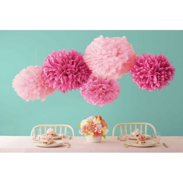 Celebrate Decor Pom-Pom Kit Makes 5