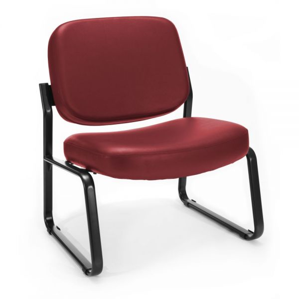 OFM Big & Tall Anti-Microbial/Anti-Bacterial Guest/Reception Chair