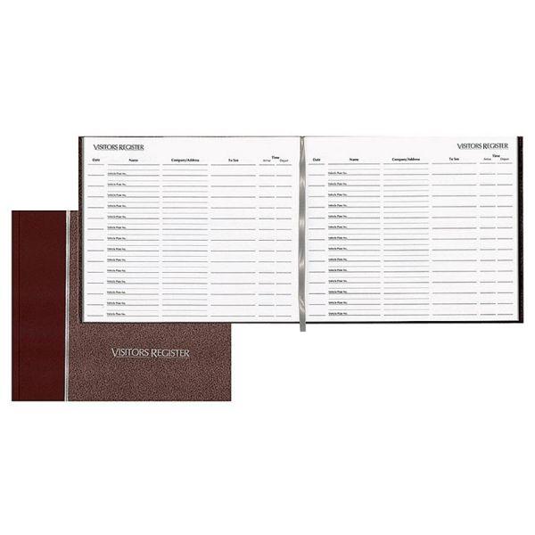 Rediform Hardcover Visitor's Register