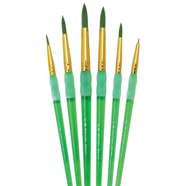 Big Kid's Choice Round Brush Set