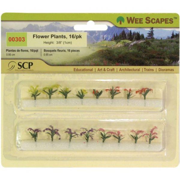 """Flower Plants .375"""" 12/Pkg"""