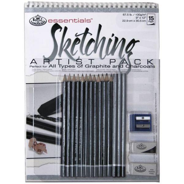 Essentials Sketching Artist Pack