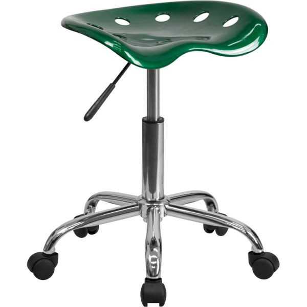 Flash Furniture Vibrant Tractor Seat Stool