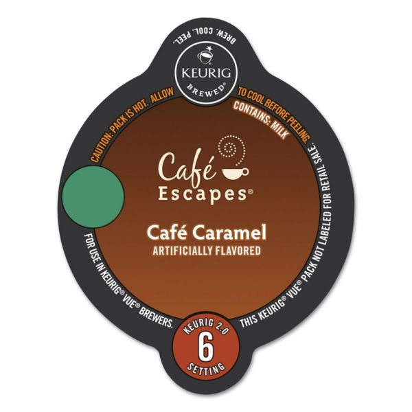 Café Escapes Café Caramel Coffee Vue Pack