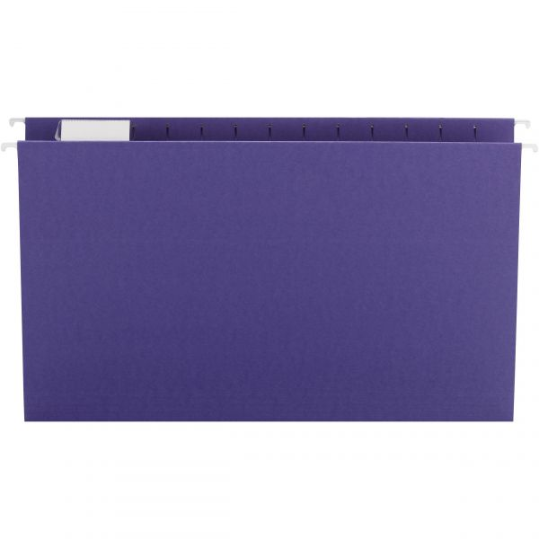 Smead 64172 Purple Colored Hanging Folders with Tabs