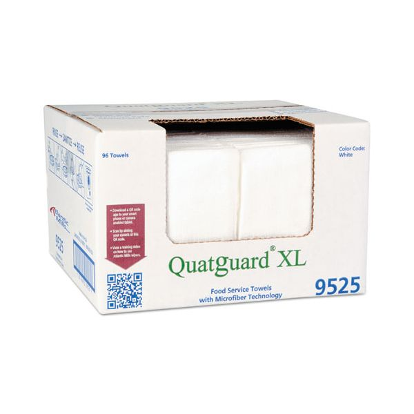 Atlantic Mills Quatguard XL Microfiber Wipers