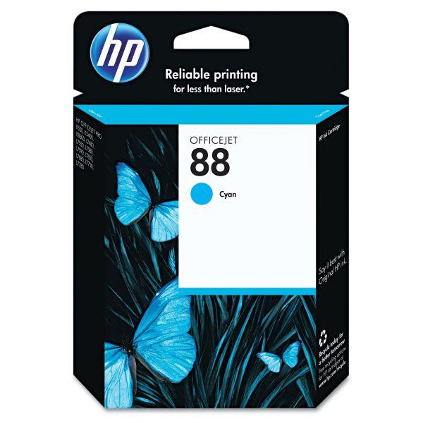 HP 88 Cyan Ink Cartridge (C9386AN)