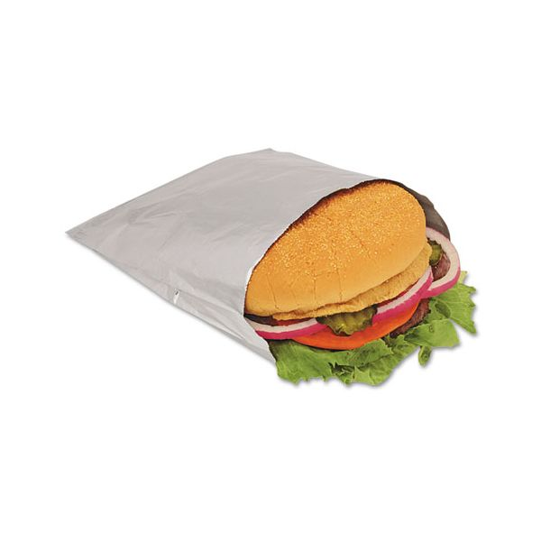 Bagcraft Papercon Foil Sandwich Bags