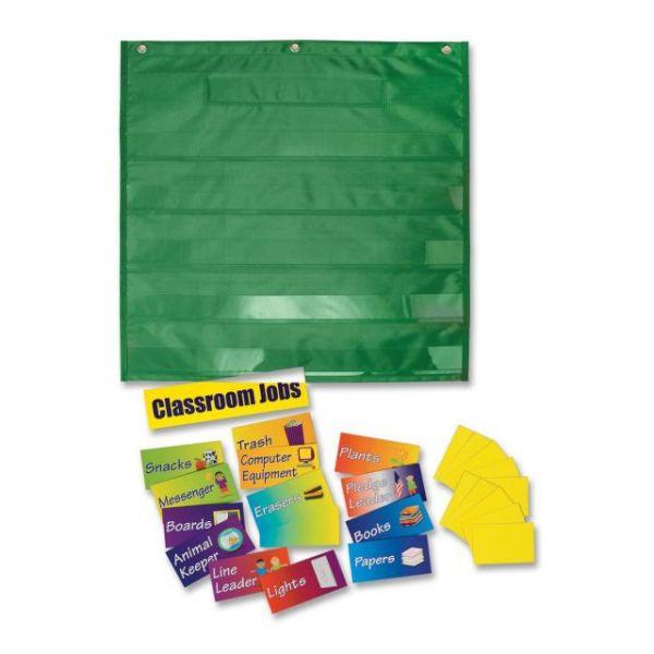 Dry Erase Classroom Jobs Pocket Chart
