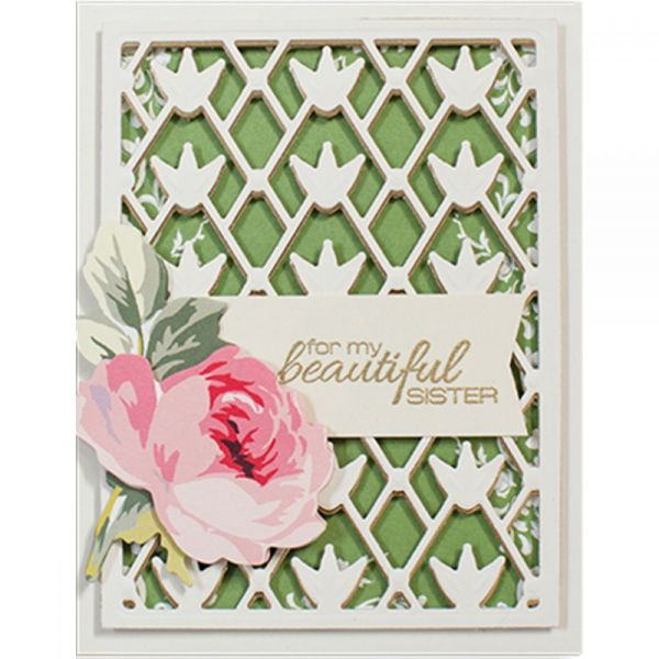 Spellbinders Card Creator Card Front Die