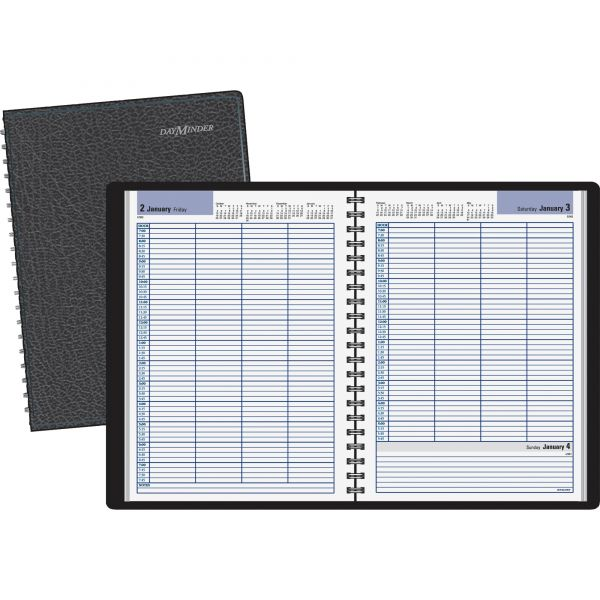 At-A-Glance DayMinder 4-Person Daily Appointment Book