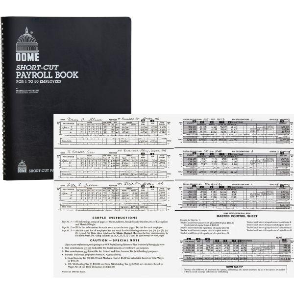 Dome Short-Cut Payroll Book