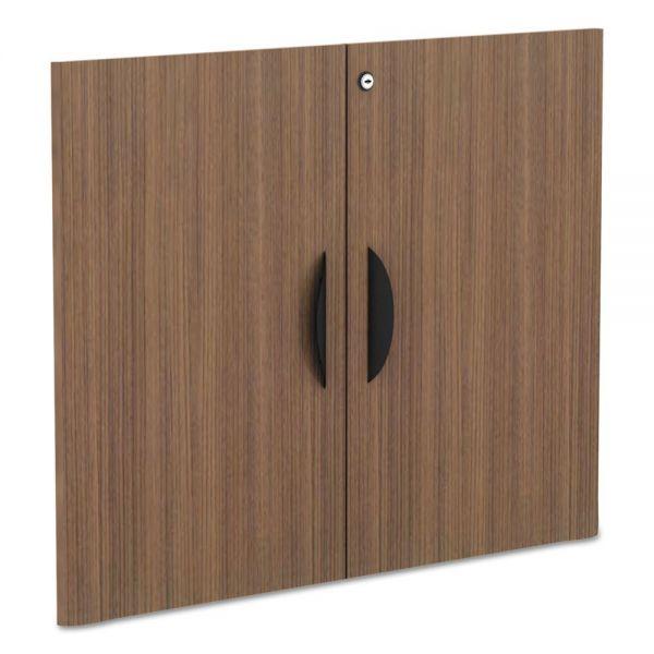 "Alera Alera Valencia Series Cabinet Door Kit For All Bookcases, 31 1/4"" Wide, Walnut"