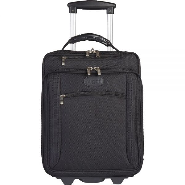 "bugatti Carrying Case (Roller) for 17"", Notebook - Black"