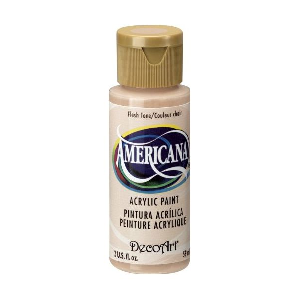 Deco Art Americana Flesh Tone Acrylic Paint