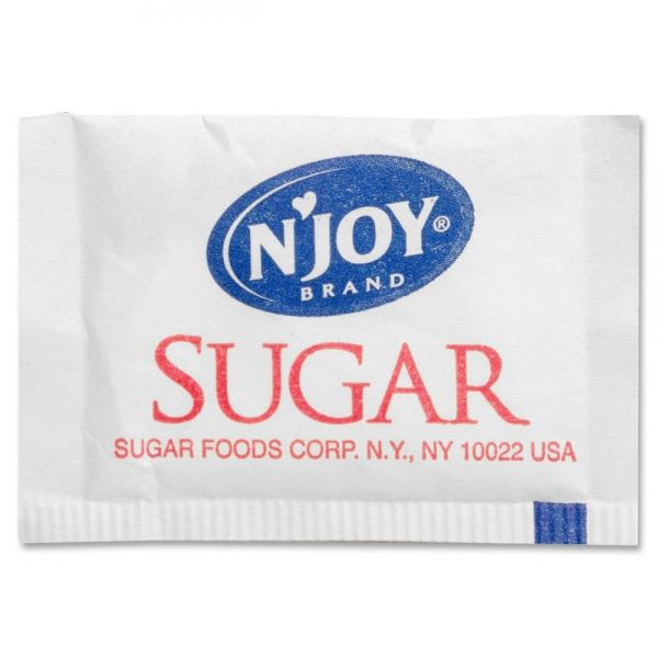 N'Joy Pure Cane Sugar Packets