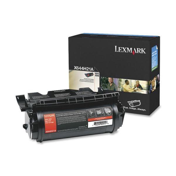Lexmark X644H21A Black High Yield Toner Cartridge