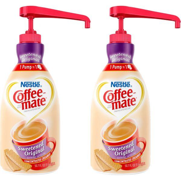 Coffee-Mate Sweetened Original Liquid Coffee Creamer