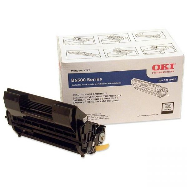 Oki 52116002 Black High Yield Toner Cartridge
