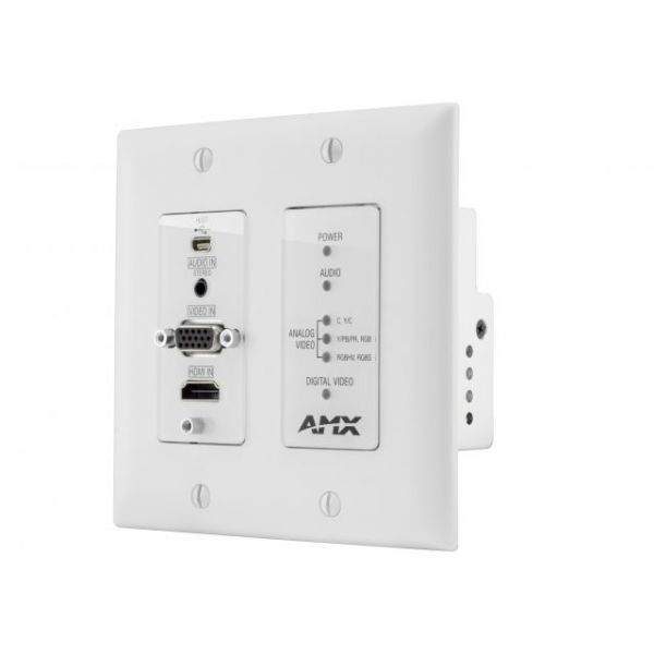 AMX DXLink Multi-Format Decor Style Wallplate Transmitters (US)