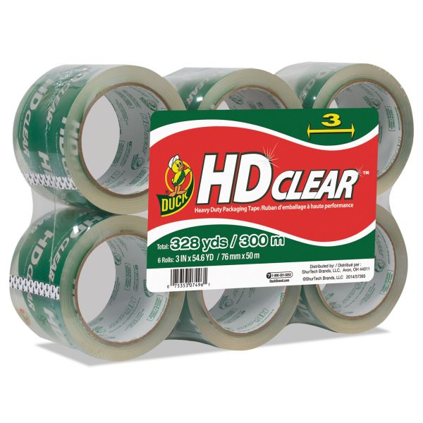 "Duck Brand Extra Wide 3"" Packing Tape"