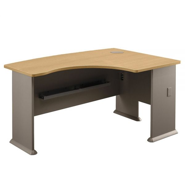 bbf Series A Right L-Bow Office Desk by Bush Furniture
