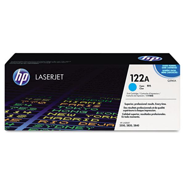 HP 122A Cyan Toner Cartridge (Q3961A)