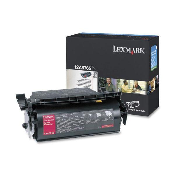 Lexmark 12A6765 Black High Yield Toner Cartridge